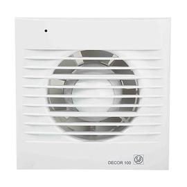 Ventilators DECOR 100C D100 ar vārstu