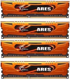G.SKILL Ares 32GB 1600MHz CL10 DDR3 KIT OF 4 F3-1600C10Q-32GAO