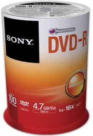 Sony DVD-R 4.7GB 16x 100pcs
