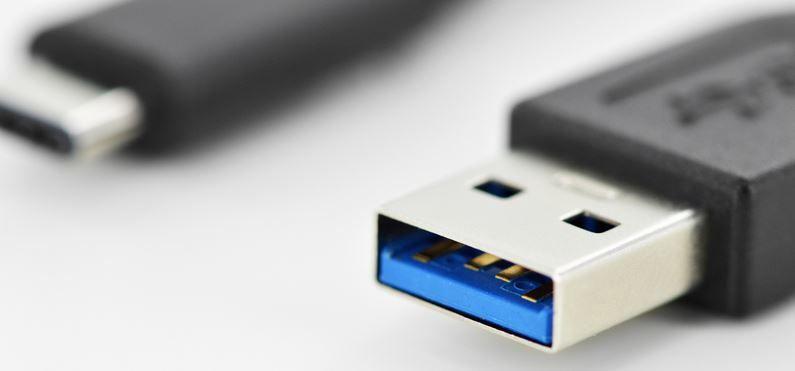 Assmann Cable USB / USB 3.0 Black 1m
