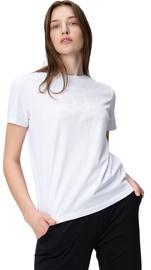 Audimas Womens Short Sleeve Tee White Printed XS