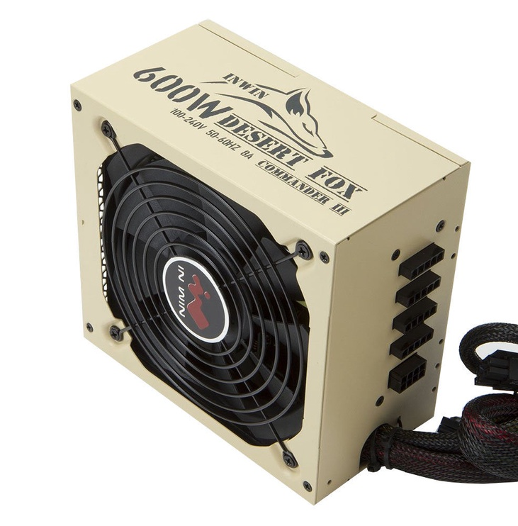 In Win 80 Plus Gold PSU Desert Fox Commander III 600W