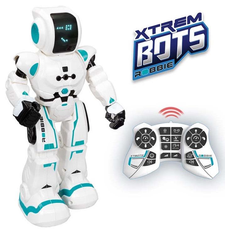 Play Visions Xtrem Bots Robbie Robot