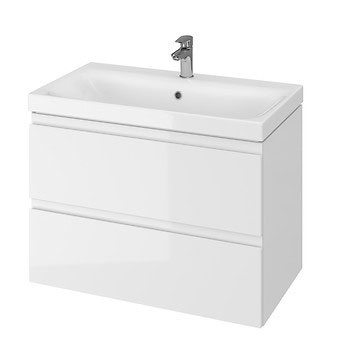Apatinė vonios spintelė be praustuvo MODUO 80cm balta