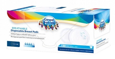 Canpol Babies Breathable Disposable Breast Pads 30pcs 1/653