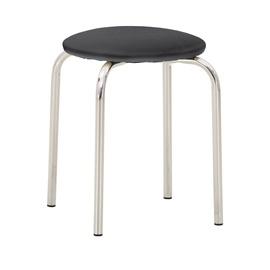Valgomojo kėdė - taburetė, Chico V14, juoda