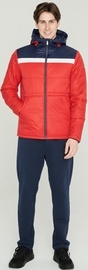 Audimas Men Jacket With Thinsulate Thermal Insulation Red/Blue XXL