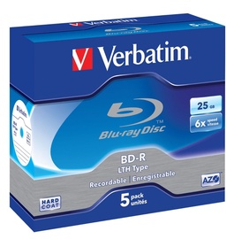 Verbatim BD-R 6X 25GB 5P Jewel Box