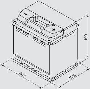Bosch High Performance S5 002 Battery