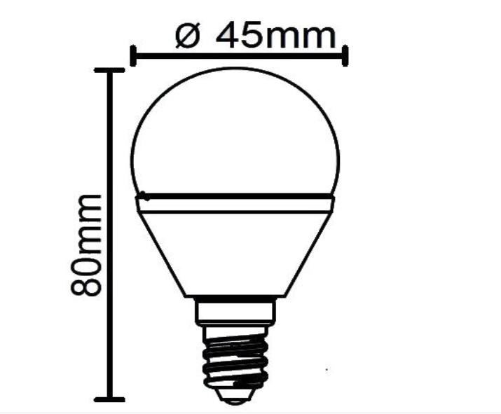 KVĒLSPULDZE R951-69 4W E14 RGB LED (Reality)