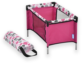 Hauck Doll Travel Bed Pink D89809