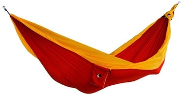 Ticket To The Moon Double Hammock Burgundy Dark Yellow