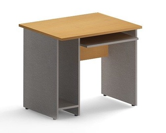 Skyland Imago SK-1 Computer Desk Maple/Metallic