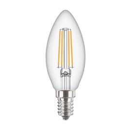 SPULDZE LED FIL B35 4W E14 WW CL ND 470L (STANDART)