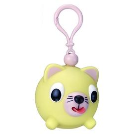 Emocinis žaisliukas-pakabukas geltona katytė
