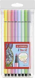 Stabilo Pen 68 Pastels 8pcs