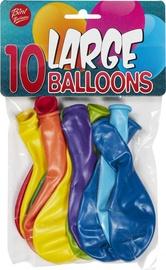 Воздушный шар Bini Balloons Mix, синий/красный/желтый/зеленый/oранжевый/фиолетовый/голубой, 10 шт.