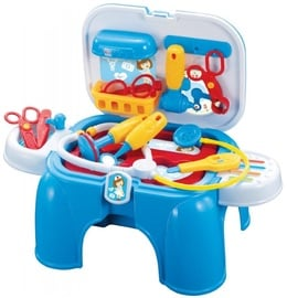 Plastica Doctor Play Set Chair Blue 13pcs 91611