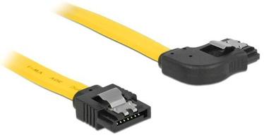 Delock Cable SATA / SATA Yellow 0.70m