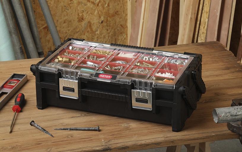 "Keter Cantilever Organizer 22"" 56.5x31.7x16.1cm Black"