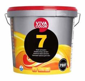 Krāsa sienām un griestiem Vivacolor 7 C, 9L