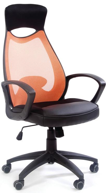Biroja krēsls Chairman 840 TW-66 Black Orange