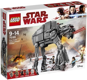 Конструктор LEGO Star Wars First Order Heavy Assault Walker 75189 75189, 1376 шт.