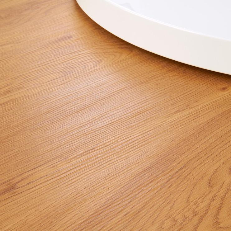 Kafijas galdiņš Halmar Michelle White/Golden Oak, 800x800x270 mm
