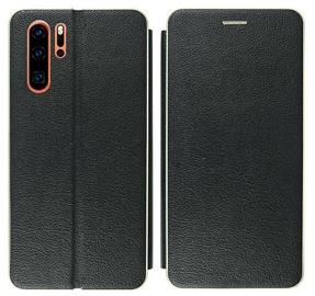 Mocco Frame Book Case For Samsung Galaxy S10e Black