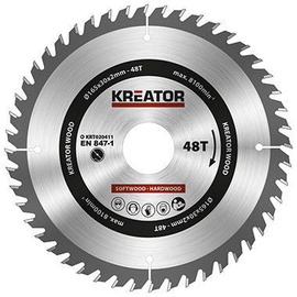 Kreator Sawblade 165x30x2mm 48T