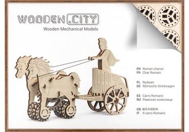 Wooden City Puzzle Roman Chariot 69pcs