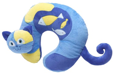 Travel Blue Kitty The Cat Travel Neck Pillow
