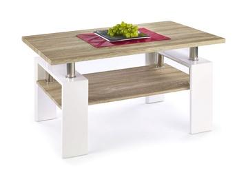 Kafijas galdiņš Halmar Diana H MDF Sonoma Oak/White, 1100x600x550 mm