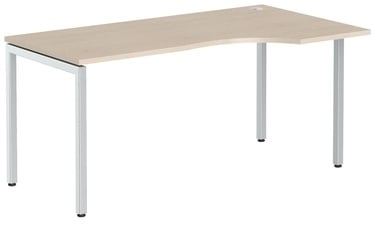 Skyland Ergonomic Table XSCET 169R Oak Tiara/Aluminum