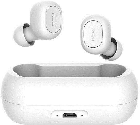 Belaidės ausinės QCY T1 White