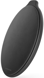 Vonmahlen Aura Qi Leather Wireless Charger Black Leather