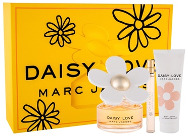Marc Jacobs Daisy Love 100ml EDT + 75ml Body Lotion + 10ml EDT