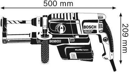 Perforaator Bosch GBH 2-23 REA Dust Extraction Hammer