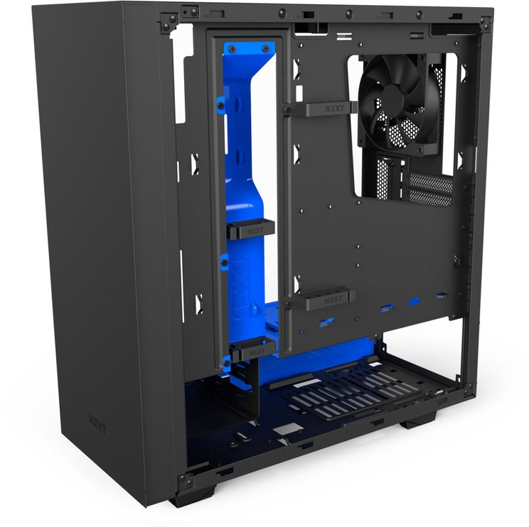 NZXT S340 Elite Mid-Tower ATX Black/Blue CA-S340W-B5