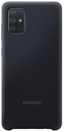Back cover for Samsung A71 Black
