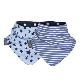 Lakatiņš Cheeky Chompers Stars&Stripes, zila/balta, Viens izmērs