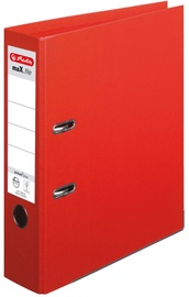 Herlitz Max File A4/8cm Red