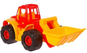 Verners Tractor 605 Red