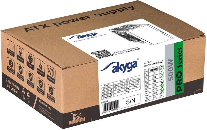 Akyga AK-P4-500 Pro Semi-Modular ATX PSU