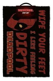 Licenced Deadpool Dirty Doormat 60x40cm
