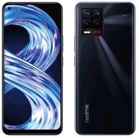 Мобильный телефон RMX3085PB Realme 8 6941399044531, черный, 4GB/64GB