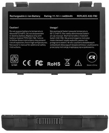 Qoltec Long Life Notebook Battery For Asus F82/F83S 4400mAh