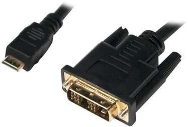 LogiLink Cable Mini HDMI / DVI-D Black 1m