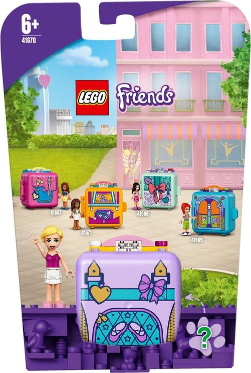 Конструктор LEGO Friends Stephanies Ballet Cube 41670, 60 шт.