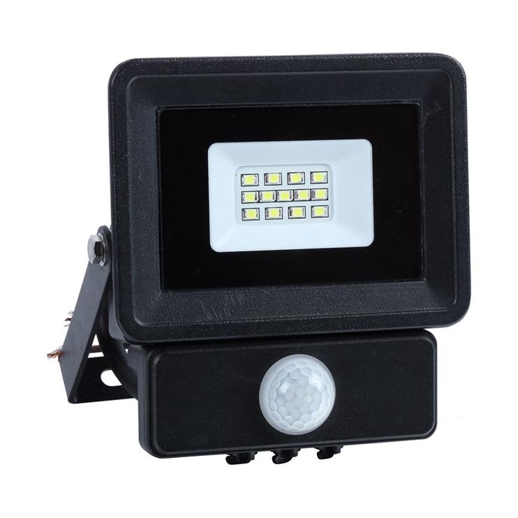 Lauko prožektorius su davikliu Okko E023ES, 10W, 4000K, LED